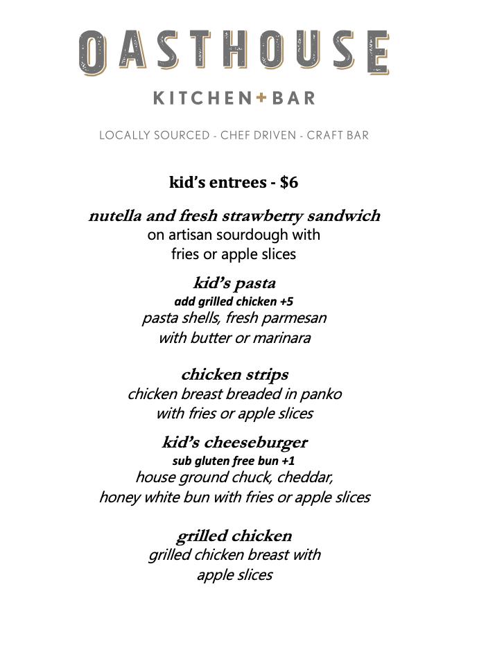 Kid menu-OH new